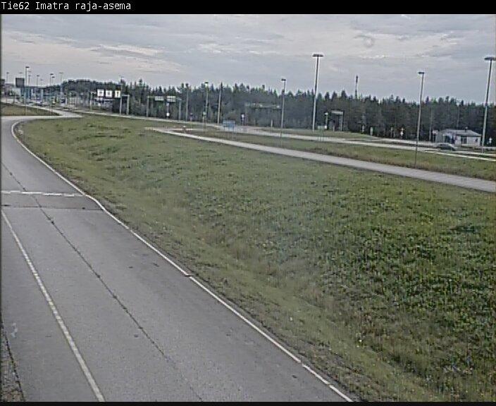 Пробки на границе Светогорск / Иматра